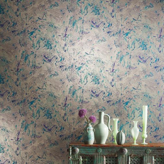 Non Woven Wallpaper Matthew Williamson Durbar W6956 01