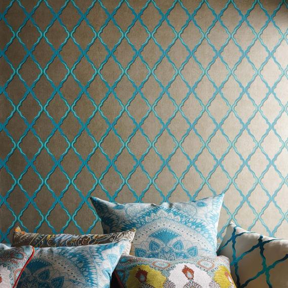 non-woven wallpaper Matthew Williamson Durbar W6957-01