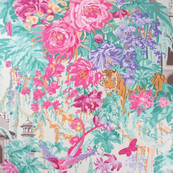 non-woven wallpaper Matthew Williamson Durbar W6958-02