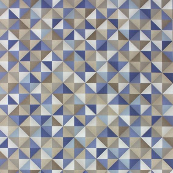 vinyl wallpaper Osborne & Little Intarsia Vinyls W6760-04