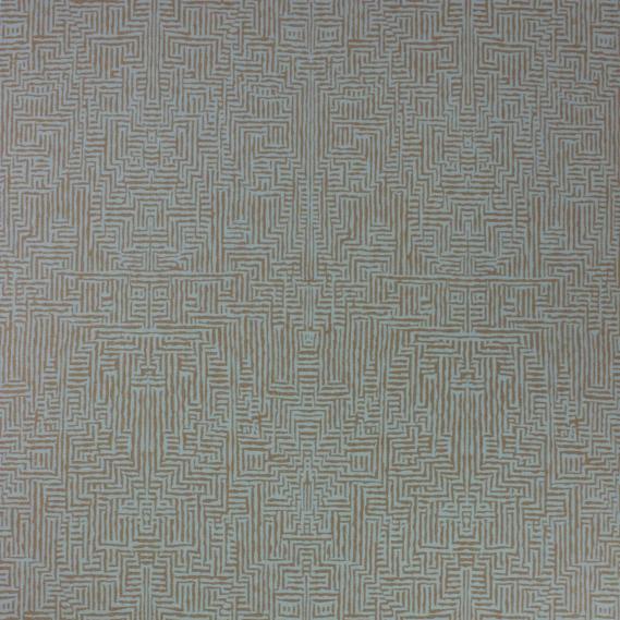 vinyl wallpaper Osborne & Little Intarsia Vinyls W6765-03