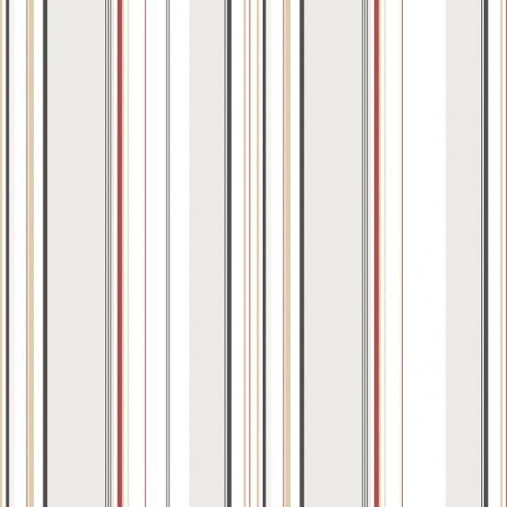 Vlies Vinyltapete mit Streifen G12102