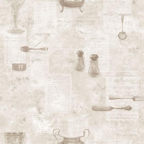 Vlies Vinyltapete Norwall Kitchen Recipes G12291