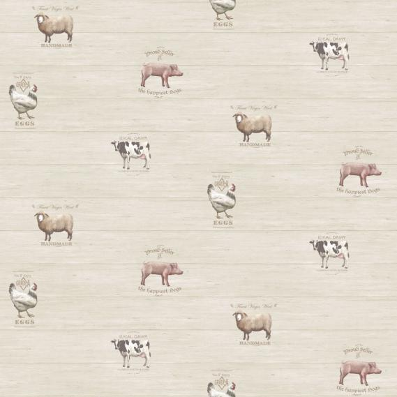 non-woven vinyl wallpaper Norwall Kitchen Recipes G12300