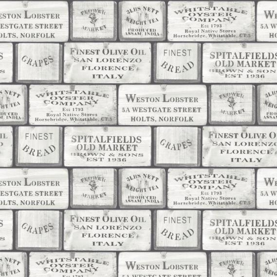 non-woven vinyl wallpaper Norwall Kitchen Recipes G12308