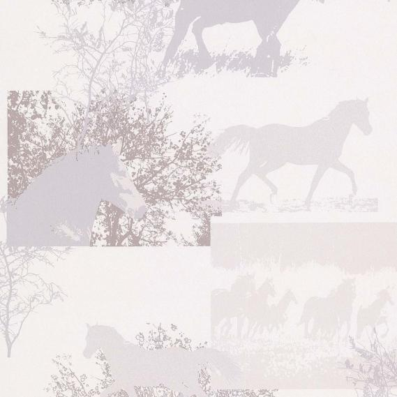 paper-backing wallpaper with horses 11101706