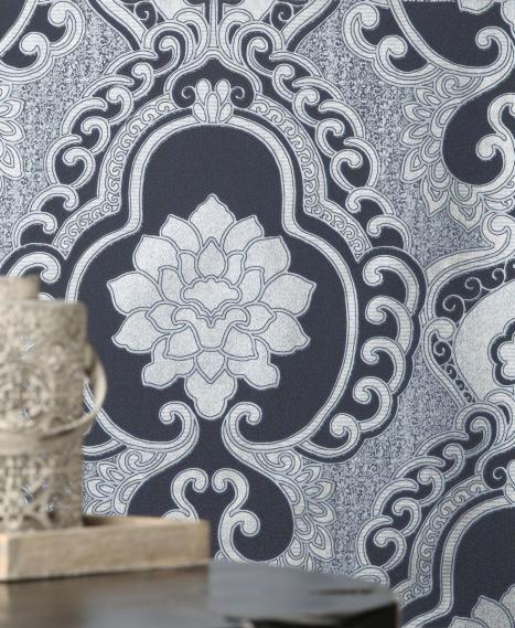non-woven wallpaper Love Togetherness Frozen Denim 63090