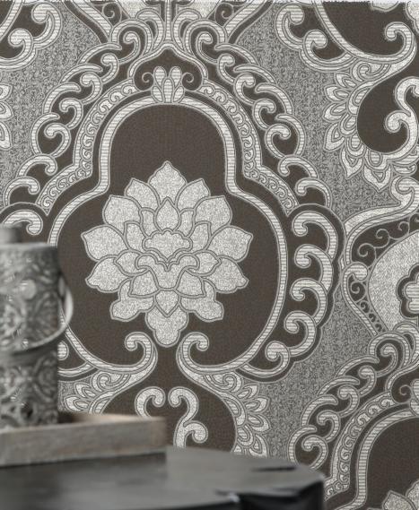 non-woven wallpaper Love Togetherness Frozen Mocha 63092