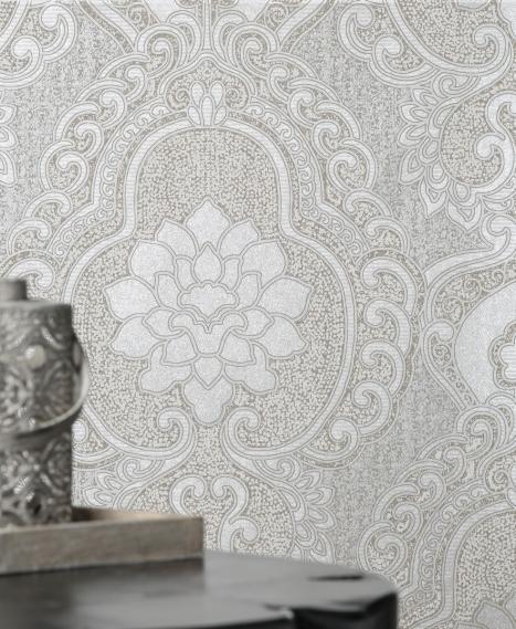 non-woven wallpaper Love Togetherness Frozen Latte 63093