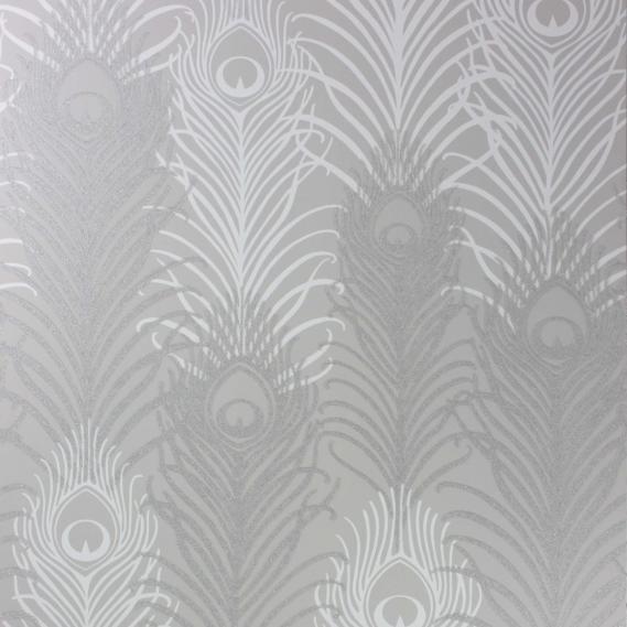 non-woven wallpaper Osborne & Little PEACOCK W6541-04
