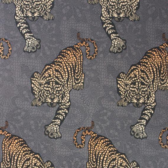 non-woven wallpaper Osborne & Little TYGER TYGER W6542-01