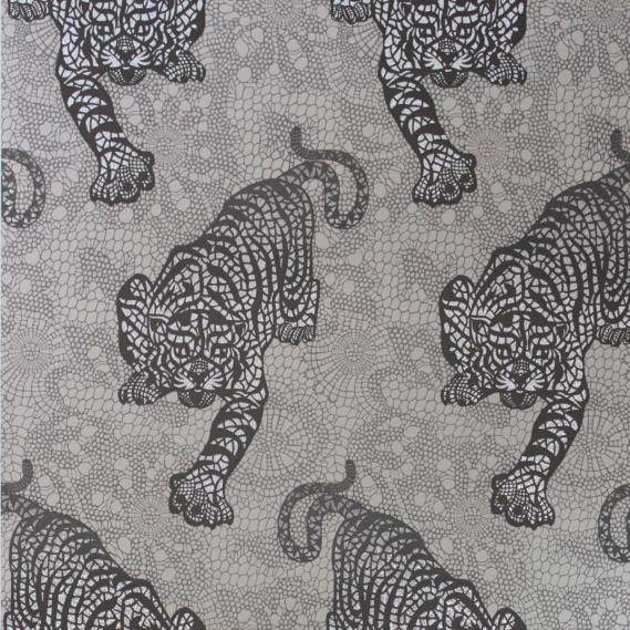 non-woven wallpaper Osborne & Little TYGER TYGER W6542-02