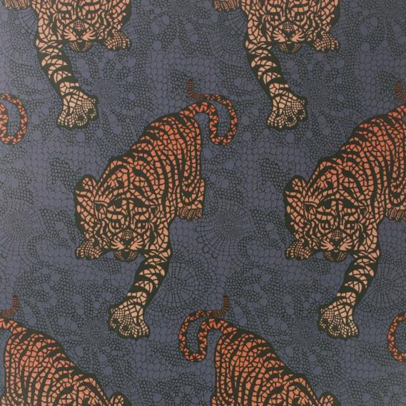 non-woven wallpaper Osborne & Little TYGER TYGER W6542-03