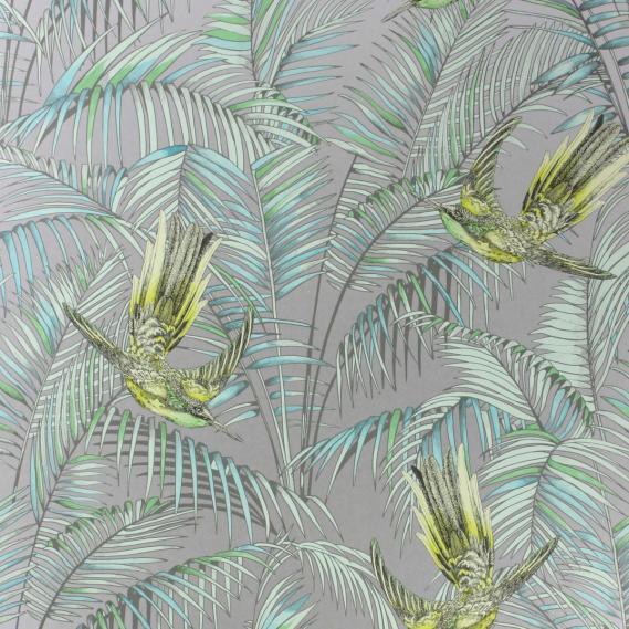 paper-backing wallpaper Osborne & Little SUNBIRD W6543-05
