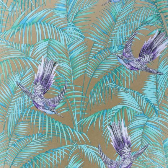 paper-backing wallpaper Osborne & Little SUNBIRD W6543-07