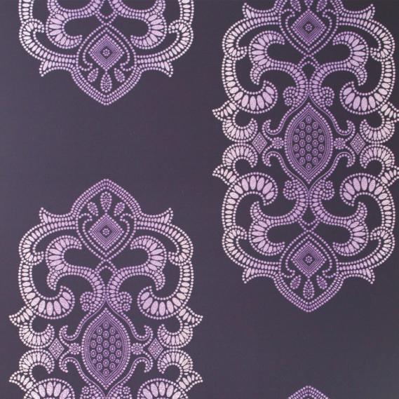 non-woven wallpaper Osborne & Little EMPRESS W6544-01