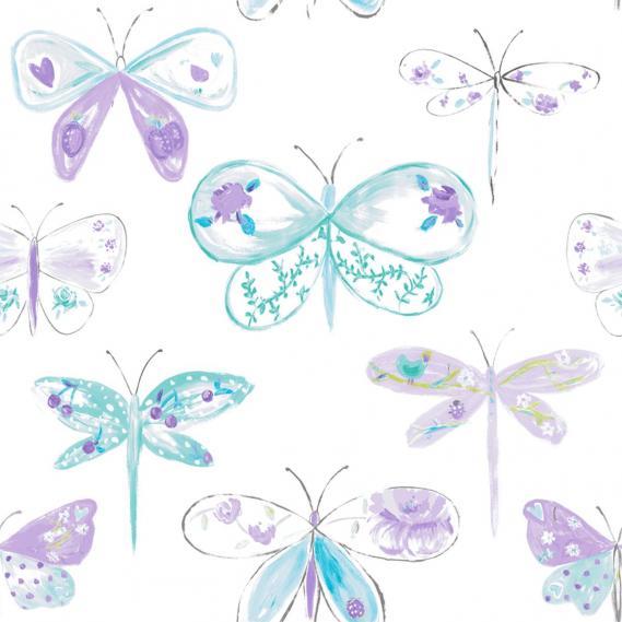 children wallpaper O la la with dragonflies 66186060