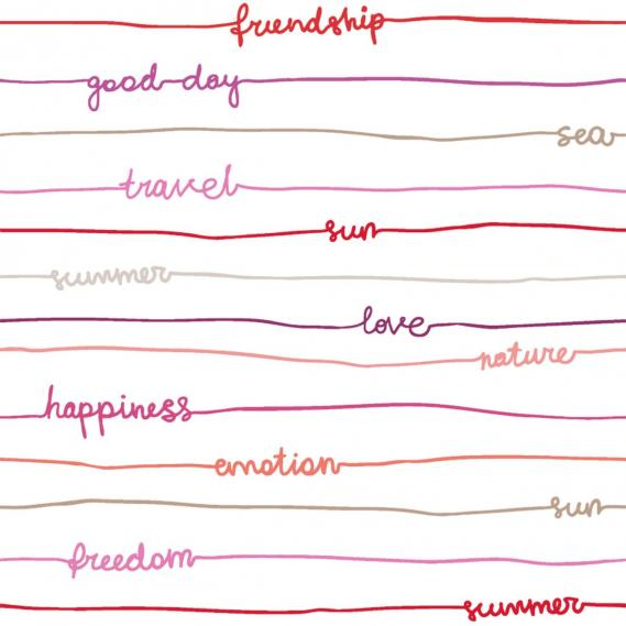 children wallpaper O la la stripes words 66245055