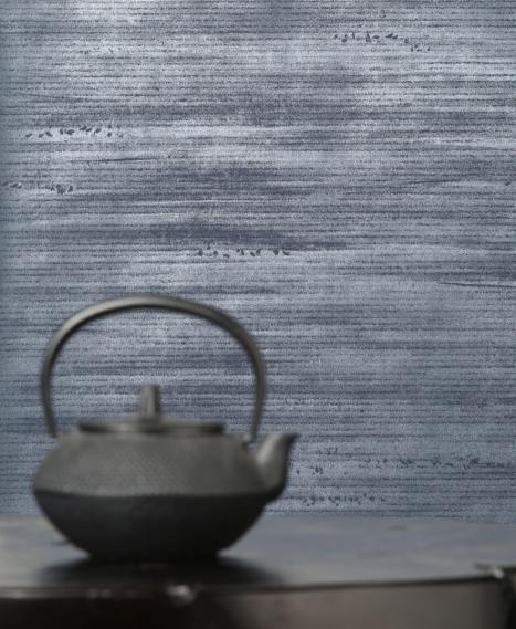 non-woven wallpaper Peace Trust Mid Blu-Deep Sea 63111