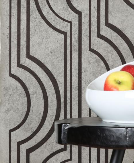non-woven wallpaper Peace Link Frozen Mocha 81014