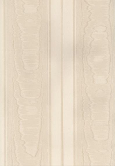 Tapete Simply Silks Moire Streifen Creme SK34714