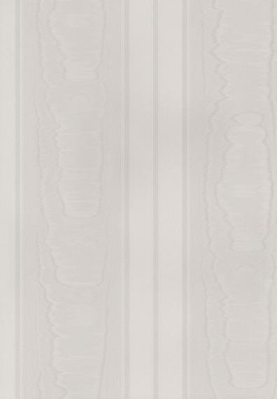 Tapete Simply Silks Moire Streifen Weiß SK34723