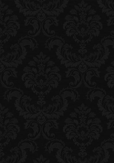 Tapete Simply Silks Barock Schwarz SK34750