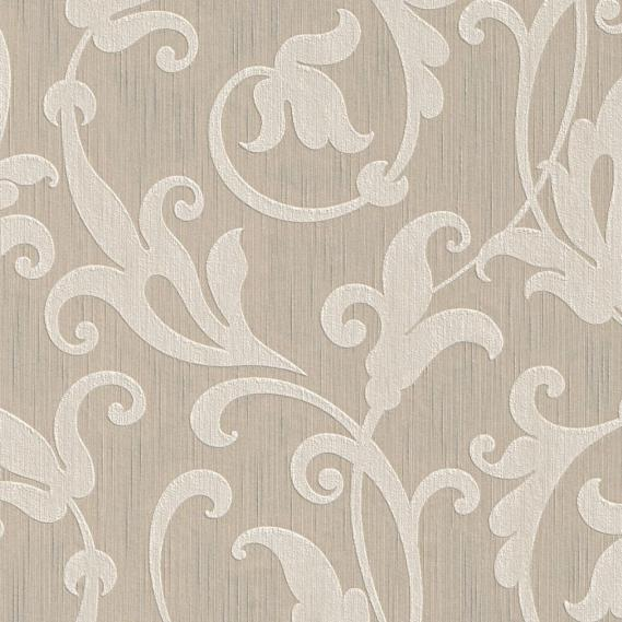 fabric wallpaper with neo baroque pattern 95490-1