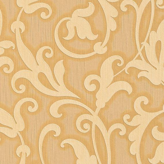 fabric wallpaper with neo baroque pattern 95490-3