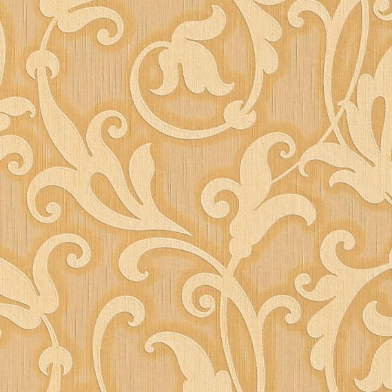 Stofftapete mit Neobarock Muster 95490-3