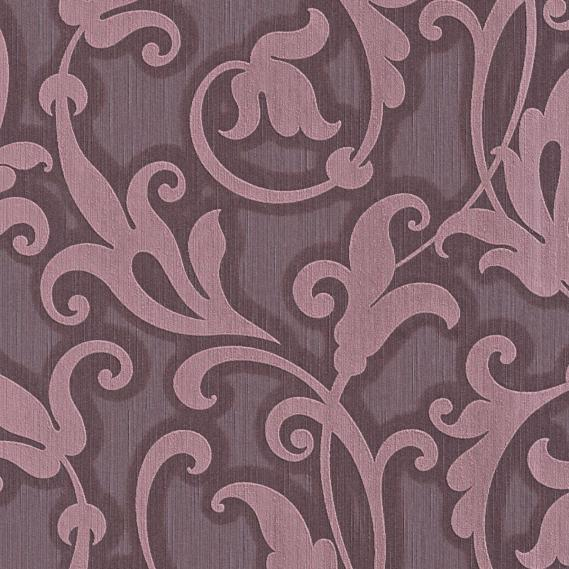 fabric wallpaper with neo baroque pattern 95490-5
