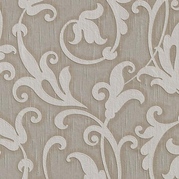 fabric wallpaper with neo baroque pattern 95490-6