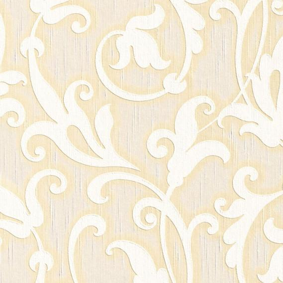 fabric wallpaper with neo baroque pattern 95490-7
