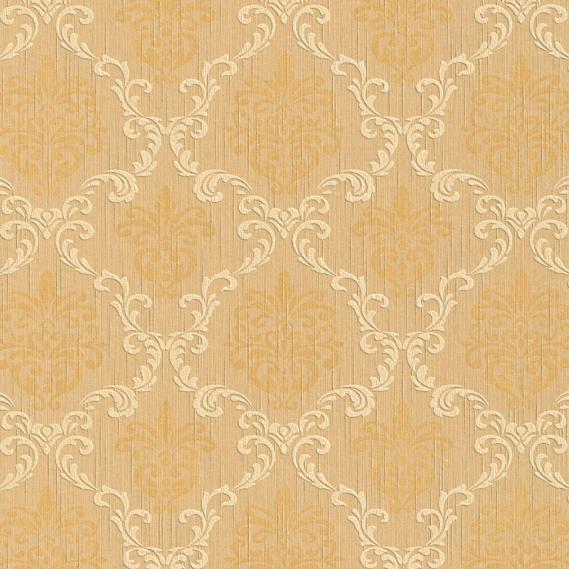 fabric wallpaper with baroque pattern 95629-3