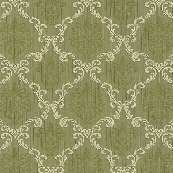 fabric wallpaper with baroque pattern 95629-4