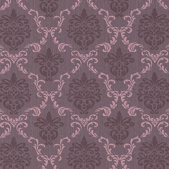 fabric wallpaper with baroque pattern 95629-5