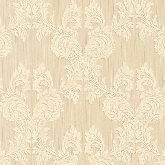 fabric wallpaper with baroque pattern 95630-2