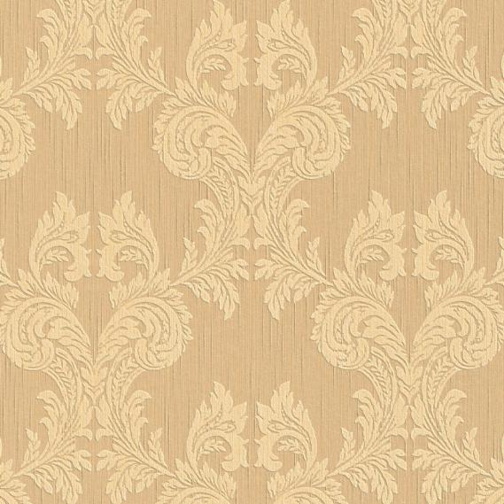 fabric wallpaper with baroque pattern 95630-3