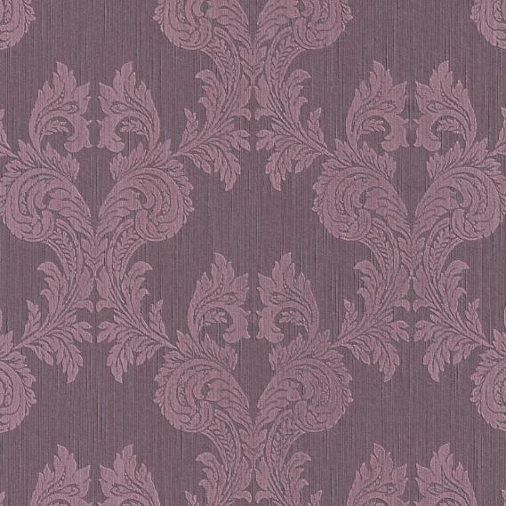 fabric wallpaper with baroque pattern 95630-5