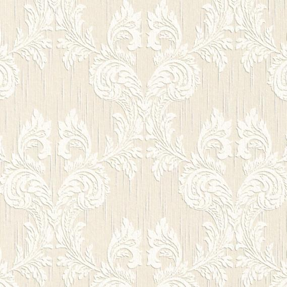 fabric wallpaper with baroque pattern 95630-7