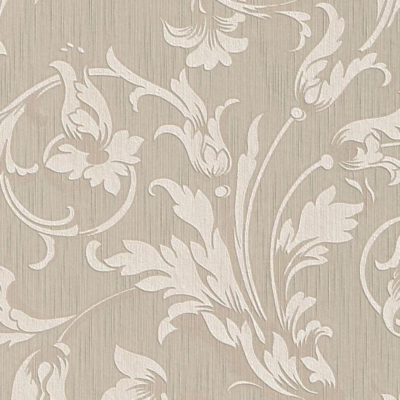 fabric wallpaper with neo baroque pattern 95633-1