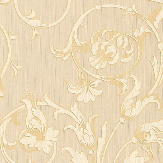 fabric wallpaper with neo baroque pattern 95633-2
