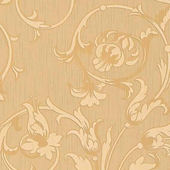 fabric wallpaper with neo baroque pattern 95633-3