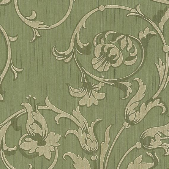 fabric wallpaper with neo baroque pattern 95633-4