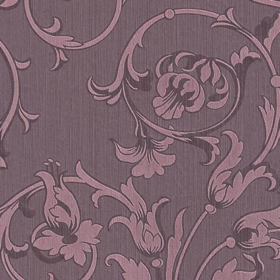 fabric wallpaper with neo baroque pattern 95633-5