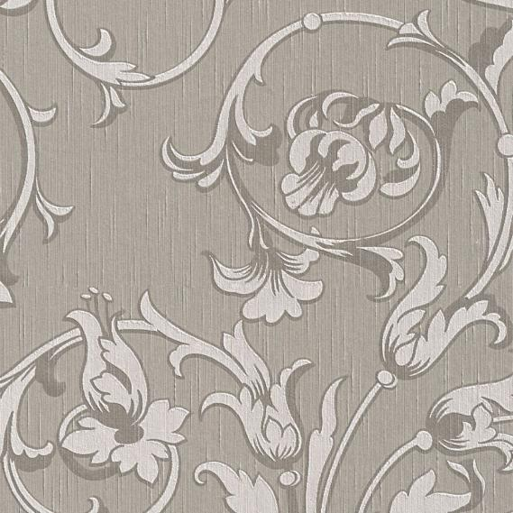 fabric wallpaper with neo baroque pattern 95633-6