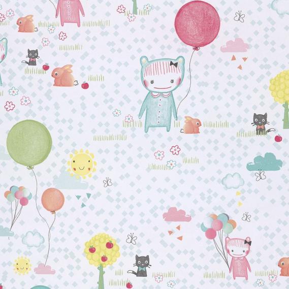 childrens non-woven wallpaper Tout Petit Eijffinger 354010