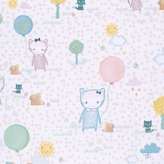 childrens non-woven wallpaper Tout Petit Eijffinger 354011