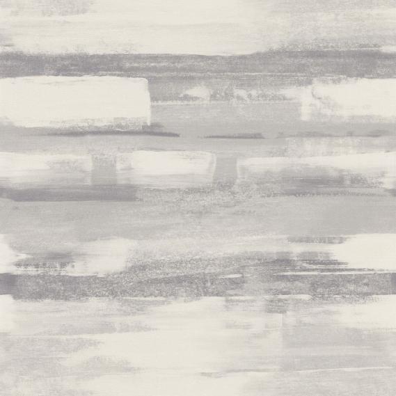 Vlies Vinyltapete Lackiereffekt Grau Zao 28679118