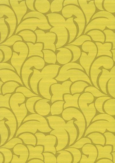 Vinyl Tapete Muster gelb SVA18012217